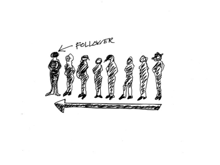 The Best Leaders are Followers